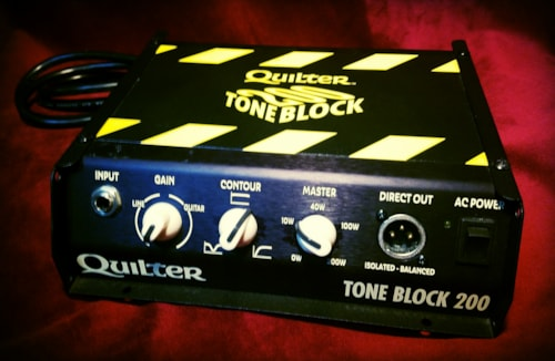 2015 Quilter Tone Block 200 Amp Head