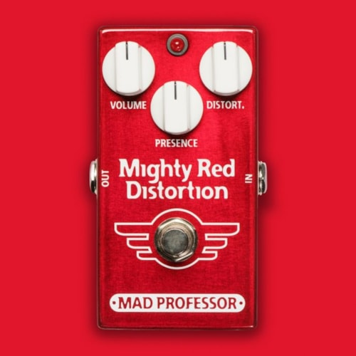 2018 Mad Professor Mighty Red Distortion
