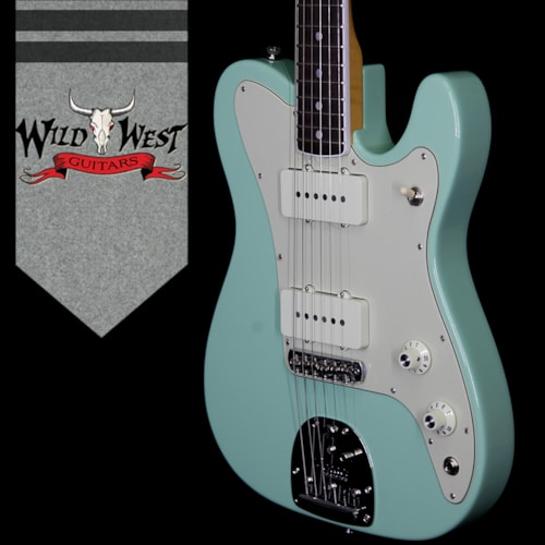 2018 Fender USA Limited Edition Parallel Universe Jazz Telecaster Rosewood Fretboard Surf Green