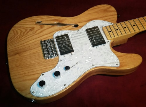 "2015 Fender Squier '72 Thinline Telecaster ""Vintage Modified"""