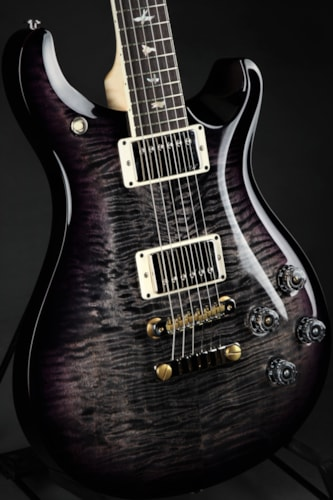Paul Reed Smith (PRS)  McCarty 594 - Charcoal Purple Wrap Around Burst/Figured Map