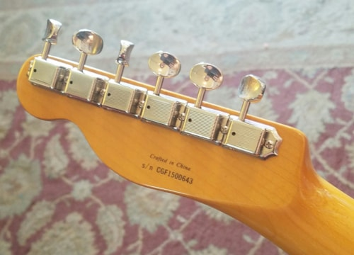 2015 Fender Modern Player Telecaster Thinline Deluxe