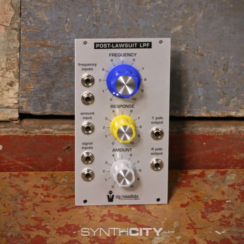 STG Soundlabs Post Lawsuit Lowpass Filter