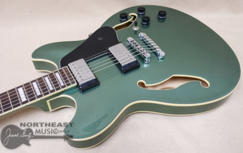 Ibanez AS73 Artcore Hollow-Body Electric Guitar in Olive Green Metallic
