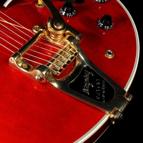 2017 Gibson Memphis ES-355 Bigsby Antique Faded Cherry 2017