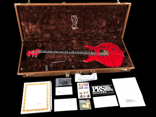 2010 Paul Reed Smith PRS Private Stock Santana Quilt Top w Custom 24 Features