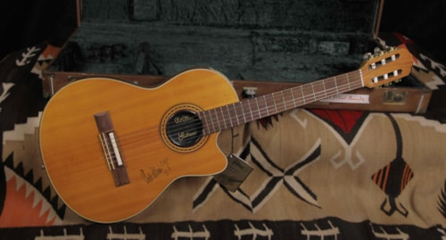 1982 Gibson Chet Atkins signed and used CE Classical