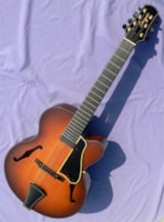 1999 Bourgeois A-350 Seven String: One of Two Ever Made