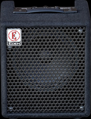 Eden EC8 20W 1x8 Solid State Combo Bass Amp in Black