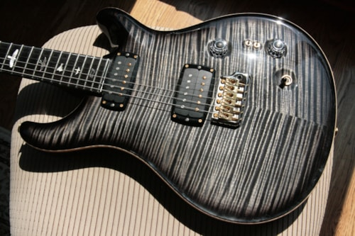 2017 Paul Reed Smith PRS Private Stock 408 Signature! Paul Reed Smith INCREDIBLE TOP! African Blackwood Charcoal Smoked Burst