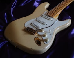 1996 Fender Custom Shop 56' Mary Kaye Stratocaster Cunetto