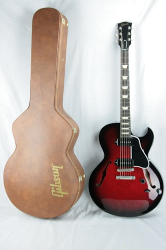 2014 Gibson ES-137 Billie Joe Armstrong Black Cherry! Limited Edition