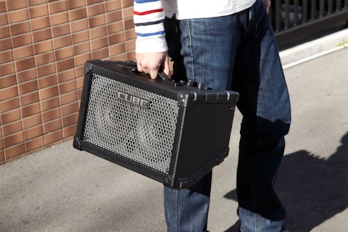 ROLAND Cube Street Battery Powered Amplifer in Black
