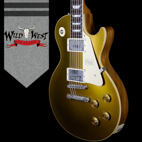 2018 Gibson Custom Shop 2018 Gibson Custom Shop Historic 57 Les Paul Standard VOS Brazilian Rosewood Fingerboard Goldtop 9.25 Lbs