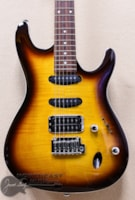 Ibanez SA260 With Flame Maple Top in Violin Sunburst