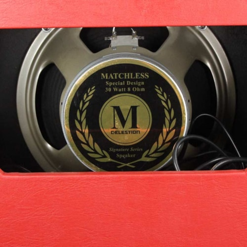 Matchless SC-30 Reverb Combo Amp Red