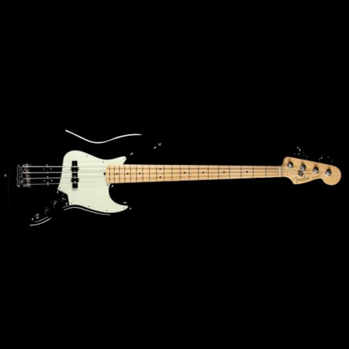 2017 Fender American Pro Jazz Bass Black 2017