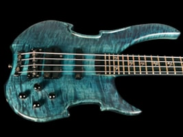 2003 Warwick Vampyre Limited Edition Pre-Custom Shop Quilt Top