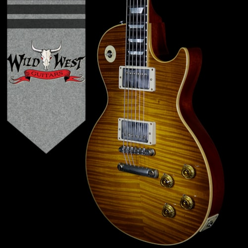 2018 Gibson Custom Shop Historic 1959 Les Paul Aged R9 Hand Selected Killer Top Brazilian Rosewood Board Dirty Lemon 8.15 Lbs