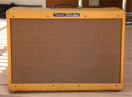 """1958 Fender """"High Powered"""" Twin Amp with very cool history!"""