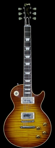 2018 Gibson Custom Shop Historic 1959 Les Paul VOS Hand Selected Killer Top Brazilian Rosewood Board Royal Teaburst 8.80 Lbs