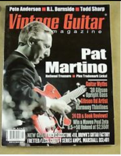 1994 Vintage Guitar Magazine  Entire Collection 1994-2018