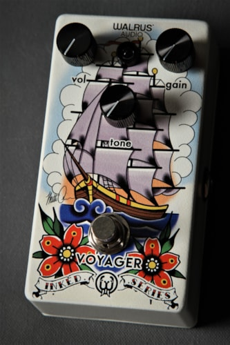 Walrus Audio Voyager -- Limited Edition Inked Series