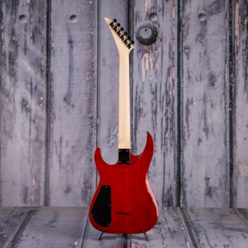 Jackson JS Series Dinky Arch Top, Trans Red