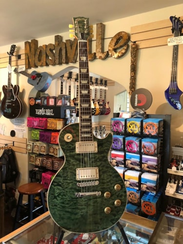 2011 Gibson Les Paul Standard (Prototype) 5A Quilt Top
