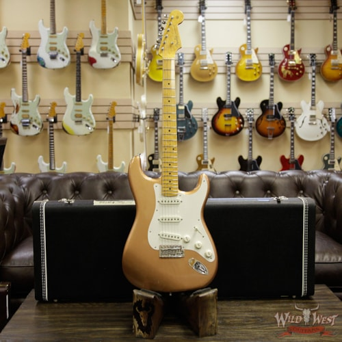 Fender Custom Shop Postmodern Stratocaster Lush Closet Classic Birdseye Maple Neck Faded Copper