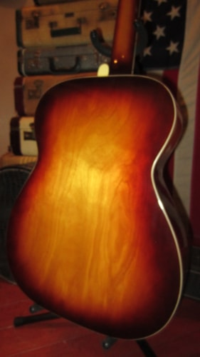 ~1967 Harmony H168 Small Bodied Flattop Acoustic
