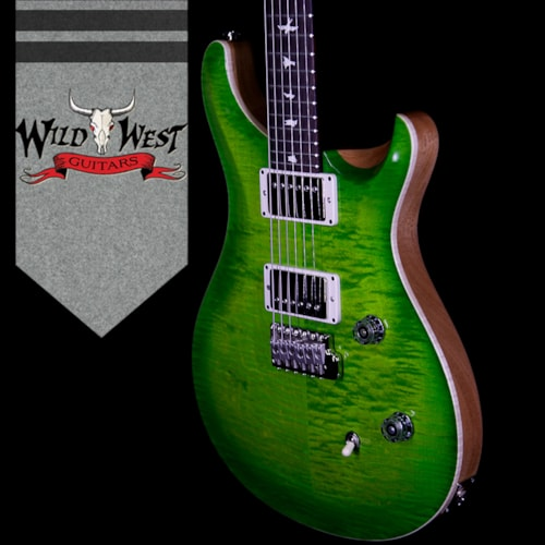 2018 PRS Paul Reed Smith PRS Wild West Guitars Special Run CE 24 Flame Top 57/08 Pickups Eriza Verde 253201