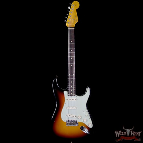 2018 Fender Custom Shop 1961 Stratocaster Journeyman Relic with Dirty Neck Rosewood Fingerboard 3 Tone Sunburst