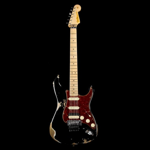 Fender Custom Shop ZF Stratocaster Music Zoo Exclusive Heavy Relic Black