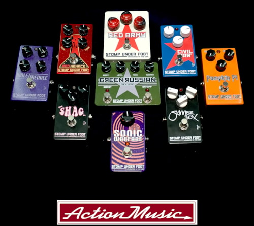 Stomp Under Foot Effects Pedals