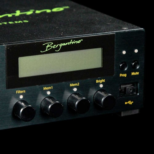 Bergantino B-Amp Bass Amplifier Head and HD212 Cabinet