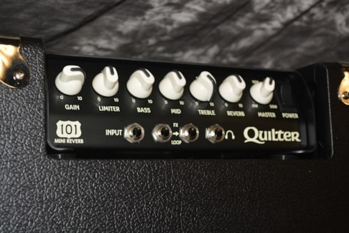 """2018 Quilter Blockdock 10"""" Cab AND101 Reverb Head"""