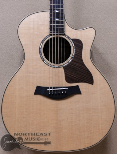 Taylor 814ce Acoustic Electric Guitar with V-Class Bracing Sitka Spruce Top and East Indian Rosewood Back and Sides