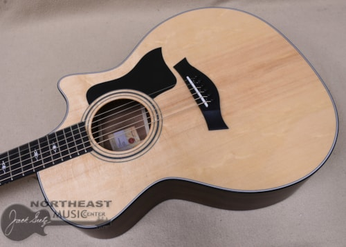 Taylor 314ce Acoustic/Electric Guitar with V-Class Bracing, Sitka Spruce Top, Sapele Back and Sides, and West African Ebony Fretboard
