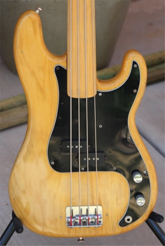 1978 Fender Precision Fretless