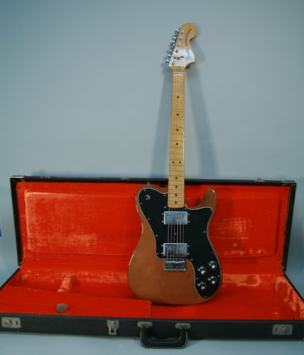 1974 Fender  Vintage Telecaster Deluxe Mocha Finish Electric Guitar w/OHS