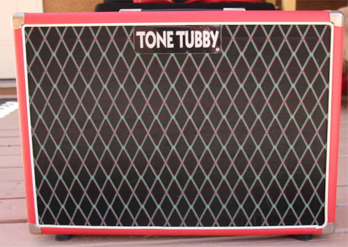 ~2010 Tone Tubby 2x10 Guitar Cabinet with Red Alnico Speakers