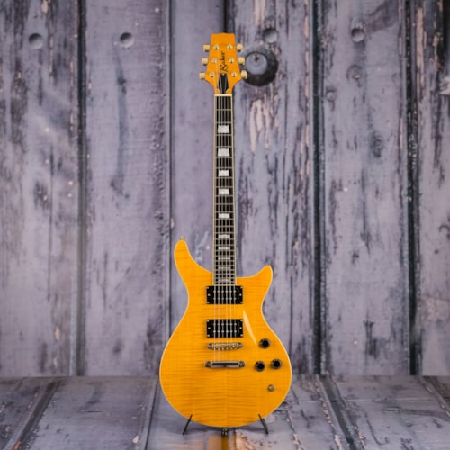 2005 Baker Double-Cut HH Electric Guitar, Flame Maple