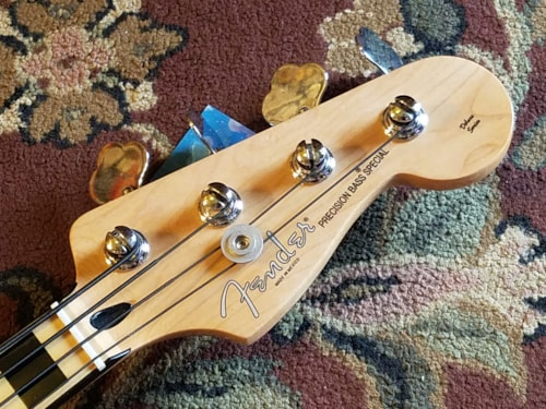 2012 Fender Deluxe PJ Precision Bass Special
