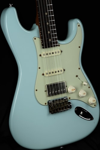 Suhr Limited Edition Classic S Antique Roasted - Sonic Blue