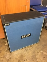 1971 Park - Marshall Straight Slant Blue 4x12 Bass Cabinet w/ original cover