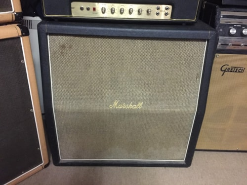 1969 Marshall Model #1935 4x12 Basket Weave Cab