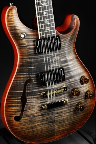 Paul Reed Smith (PRS) Eddie's Guitars Wood Library McCarty 594 Semi-Hollow - Burnt