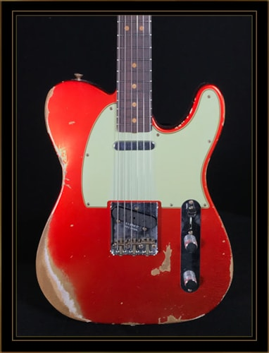 Fender Custom Shop 1963 Heavy Relic Compound Radius Telecaster