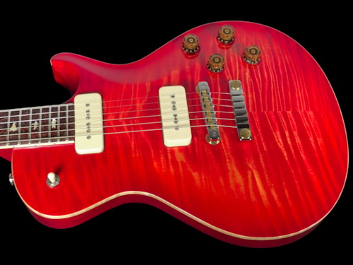 2018 Paul Reed Smith PRS SC594 Singlecut Flame Top with Soapbars